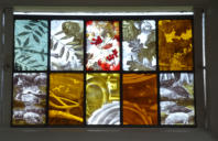 Painted Glass panel 2